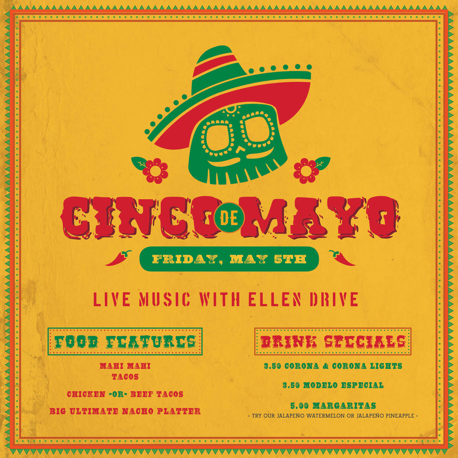 Cinco de Mayo at Red's Ice House 2017